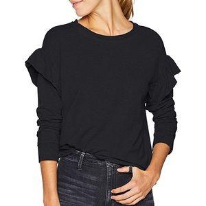 UGG Women's Amara Sweatshirt Black Small NWOT